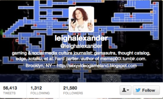 Leigh Alexander is a respected source for gaming news, but it still the target of objectifying comments.